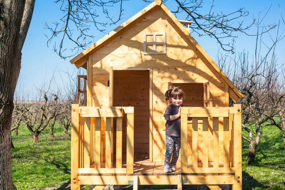 Casette in legno per giardino