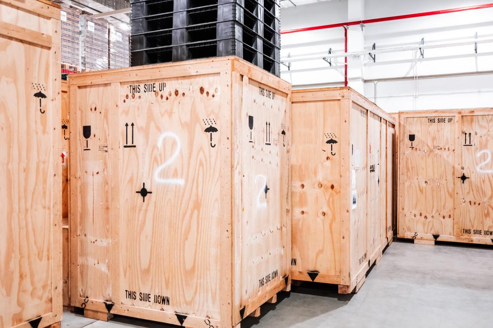 Casse in legno per trasporto